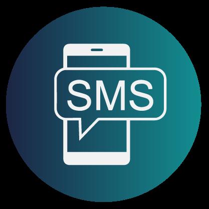 Ícone sms